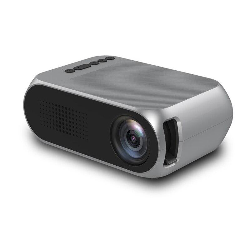 YG320 Mini Projektor Führte Projektor Proyector Portatil 500LM Audio HDMI USB Mini YG-320 Projetor Home Theater Media Player Beamer
