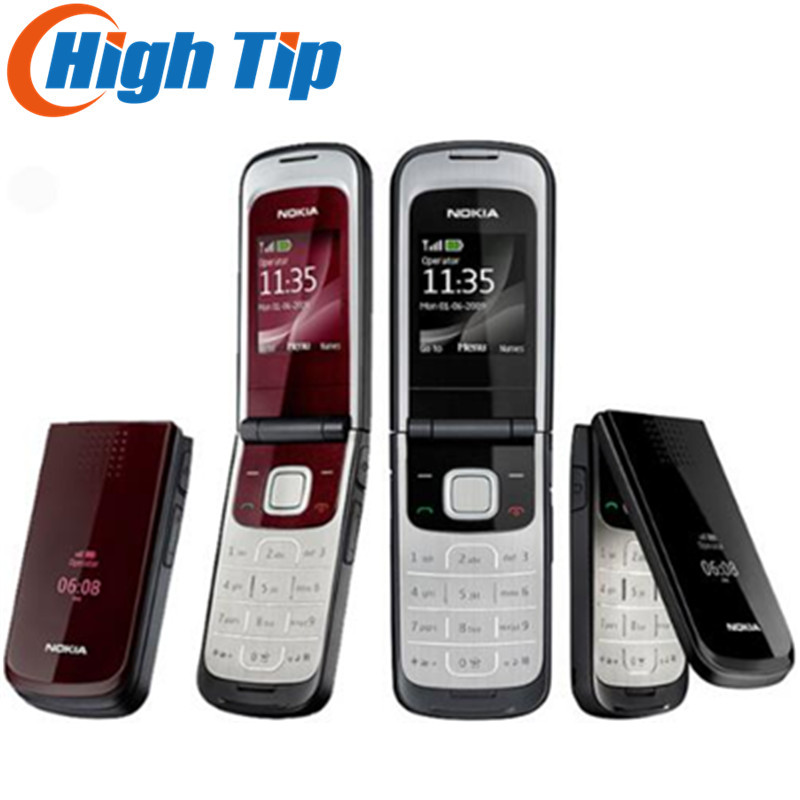 Cheap Wholesale Nokia unlocked original mobile phone 2720 Drop singapore post Free shipping Russian keyboard support