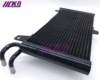 цена на Oil Cooler Aluminum Transmission Oil Cooler 22 Row Automatic Stacked Plate Oil Cooler Radiator