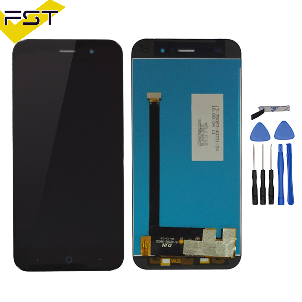 5.0 inch LCD screen For <font><b>ZTE</b></font> Blade X7 D6 V6 Z7 <font><b>T660</b></font> T663 LCD Display with Touch Screen Digitizer Assembly Free Shipping image