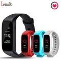 Nova chegada Lemado L30T Bluetooth Banda Inteligente Heart Rate Monitor TFT-LCD de Tela Dinâmico Smartband para IOS Smartphone android