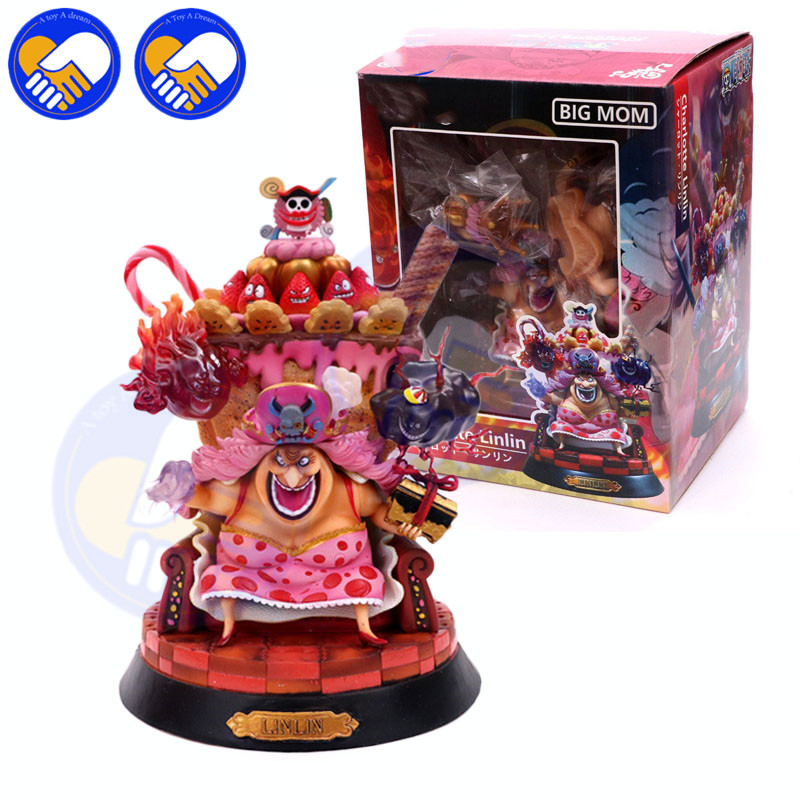 NEW Anime One Piece Kaido Four Emperors Edward Newgate White Beard Big MoM 24cm PVC Action Figure Model Doll Toys In Boxed laundry by shelli segal quilted leather jacket