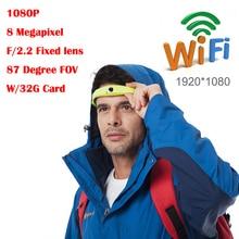 ForeamX1 sport camera hd 1080p wifi mini action Camera head wearable camera Waterproof Mobile Phone remote control
