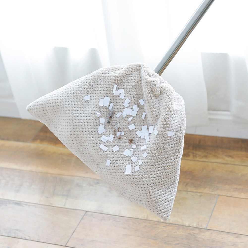 المرجان المخملية غطاء مكنسة طبق القماش رذاذ ممسحة أرضية مع قابلة لإعادة الاستخدام ستوكات ماصة ممسحة أداة التنظيف المنزلية القماش