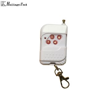 Darmowa dostawa! 433 MHz bezprzewodowy białe plastikowe przycisk zdalnego sterowania przez systemy alarmowe do domu tanie i dobre opinie HuilingyiTech AP013-HT10031 315MHz or 433MHz 1527 simple design