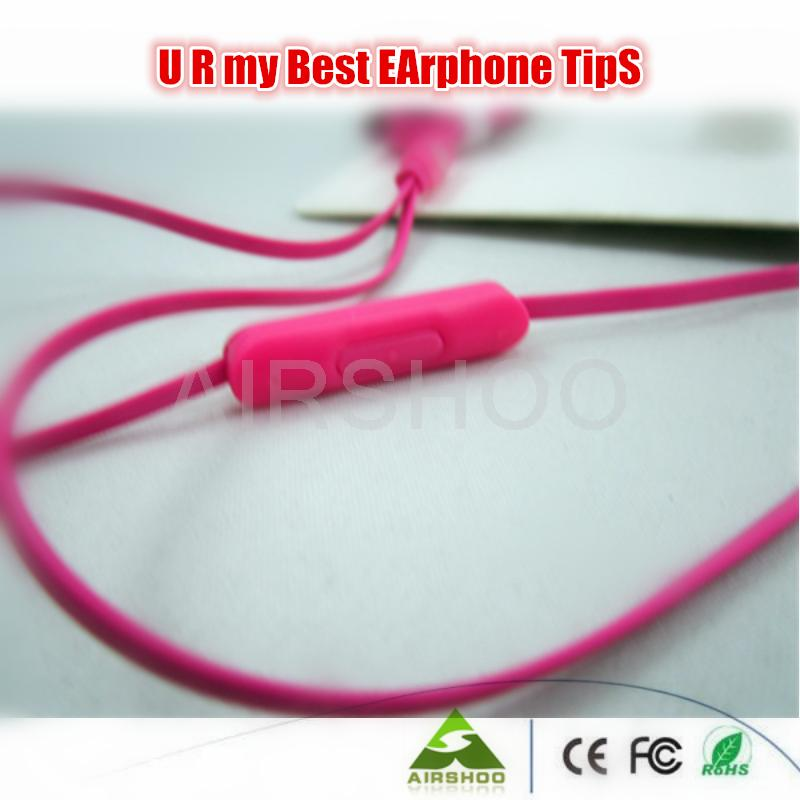 5PCS per lot Free Shipping Top Quality Cheap Brand Stereo Sports Earphone URB by Post or ePacket