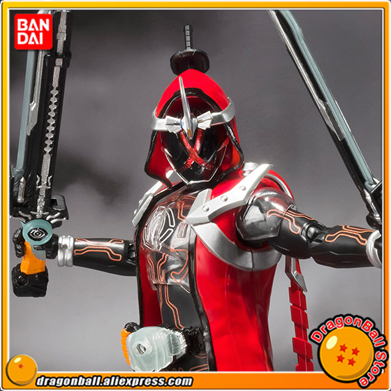 Original BANDAI Tamashii Nations S.H. Figuarts / SHF Exclusive Action Figure - Kamen Rider Ghost Musashi Damashii