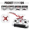 Mi dron fq777-124 4ch 6 axis gyro controlador comutável kvadrokopter mini drone quadrocopter rtf rc helicóptero crianças toys para meninos