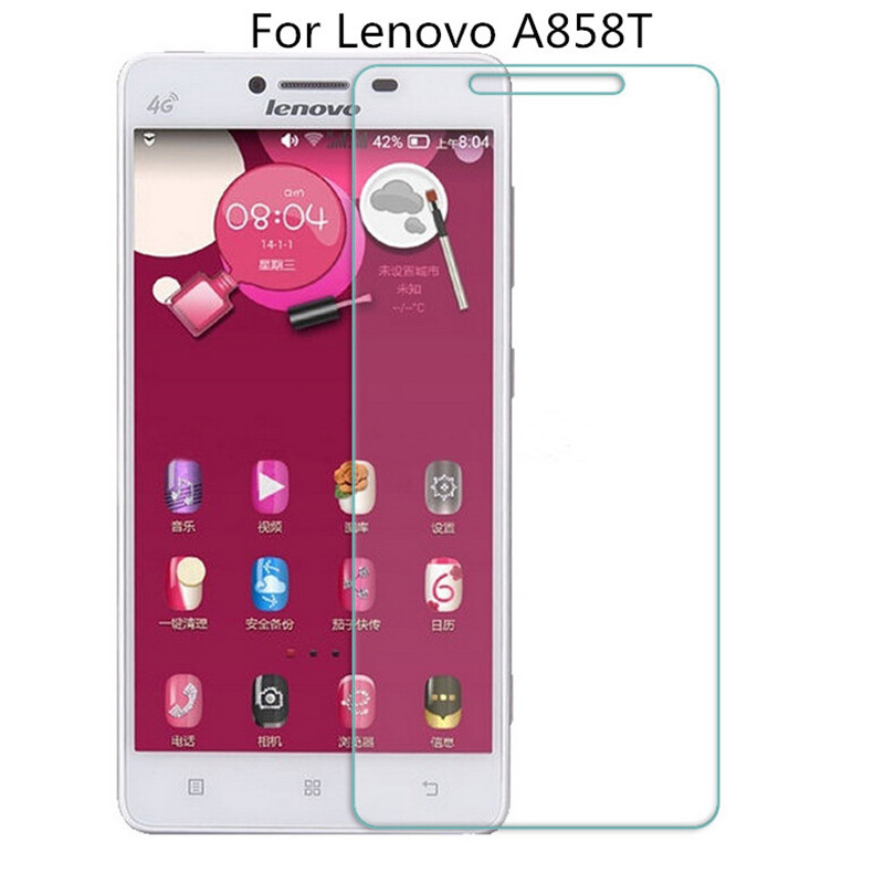 Premium Tempered Glass For Lenovo A858T A858W A858 Screen Protector 9H Toughened Protective Film Guard