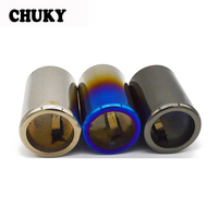 CHUKY 1PCS Motorsport M For BMW F30 320i 320 316i 328i 2013 2014 New 3 Series Car Exhaust Muffler Pipe End Tip Cover Accessories