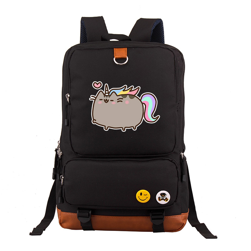 9188a926f0 Αγορά Άνδρες ' s Τσάντες | New Arrival Pusheen Cat Printing Backpack Kawaii  Women Backpack Canvas School Bags Lovely Pusheen Bags Mochila Feminina