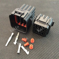 Yazaki 10 sets Kit 16 Pin Way  Waterproof Electrical Wire Connector Plug auto connectors  YL