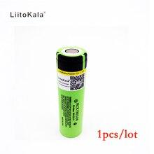 Original para Panasonic Liitokala 1 Pçs e lote Novo 2017 18650 3400 MAH 18650b Bateria Recarregável Li-ion Battery 3.7 V