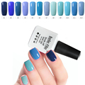 10ml UV Lamp Nail Gel Polish Led Lamp Gelpolish 12 Blue Color Series Nailpolish Soak Off  Gel Lak