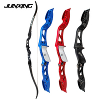 3 Color 20 36Lbs American Hunting Bow Recurve Bow Black/Red/Blue Archery with Sight and Arrow Rest for Outdoor Hunting/Shotting