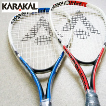 Karakal Carbon Aluminum Alloy Squash Racket Kid Blue Red Squash Racquet With Racket Bag Sports Equipment Squash Racquet Children(China)