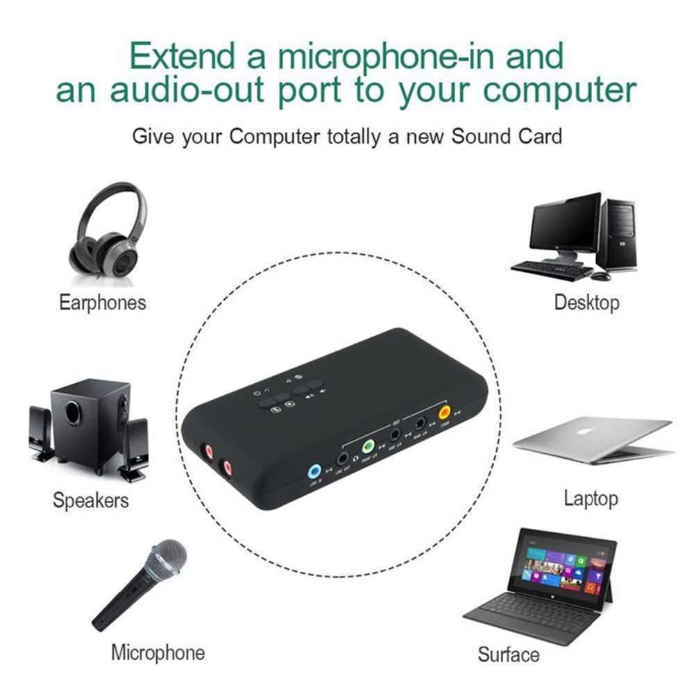 7,1 Звуковая карта USB 2,0 Звуковая карта CMI6206 Чипсет USB аудио устройством класса Spec1.0 и USB HID класс спец 8-канальный сетевой видеорегистратор DAC Выход