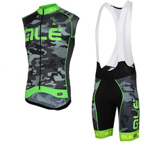 Pro Team 2017 Cycling jersey Breathable MTB bike sleeveless cycling clothing bicycle Clothing Ropa Ciclismo vest bib shorts set