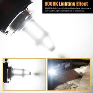 Image 5 - 2pcs H15 LED רכב ערפל מנורת 150W עם מפענח גבוהה כוח 3030 שבב לבן עמיד למים אוטומטי קדמי פנס ערפל נהיגה אורות 12V 24V