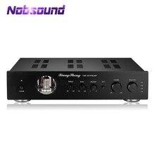 Nobsound最新のハイエンド真空 12AT7 12AU7 管ステレオのhi fiデスクトップオーディオプリアンプ