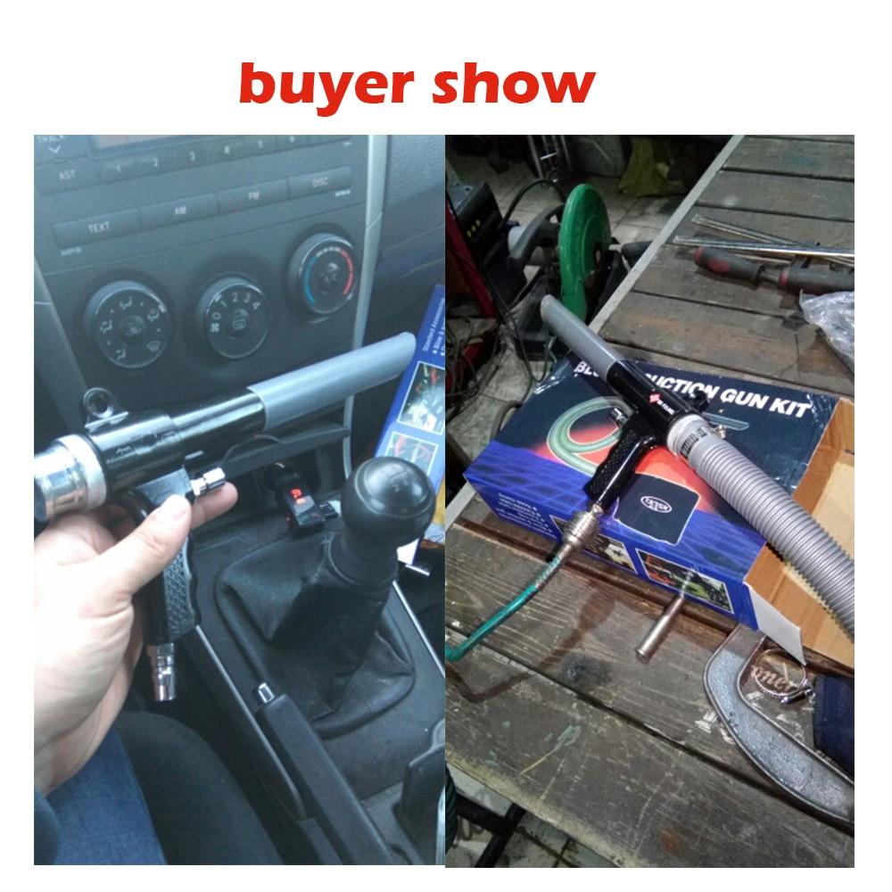 Image 5 - Air Wonder Gun Kit Dual Function Air Vacuum Blow Gun Pneumatic Vacuum Cleaner Kit Air Blow Suction Gun Kit Tools-in Pneumatic Tools from Tools on
