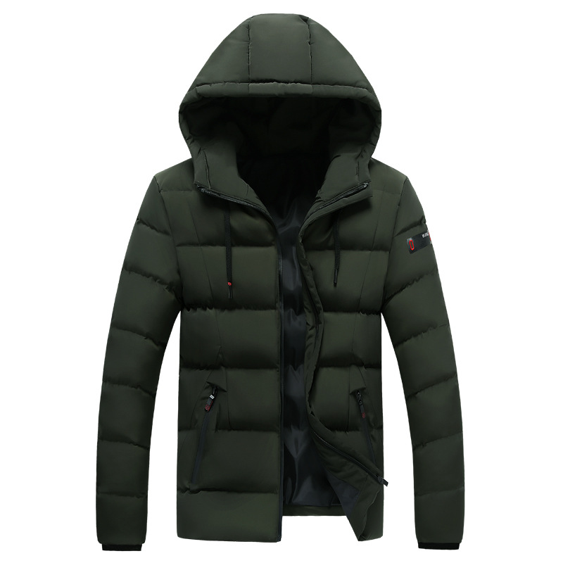 Plus Size  4XL 5XL 6XL 7XL 8XL Large Size Winter Jacket and Coat Men Padded Warm Parkas 115-125