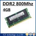 Акции памяти ram DDR2 4 ГБ 8 ГБ 800 МГц PC2-6400 sodimm ноутбук, memoria оперативной памяти ddr2 4 ГБ 800 МГц pc2 6400, ddr 2 4 ГБ оперативной памяти