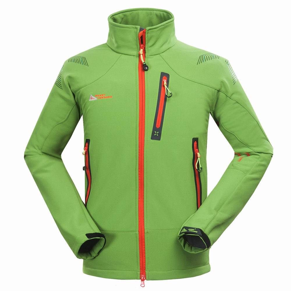 2019 Men Outdoor Jacket Soft shell Waterproof Windproof Camping Hiking Thermal Softshell Coat Skiing Soft shell