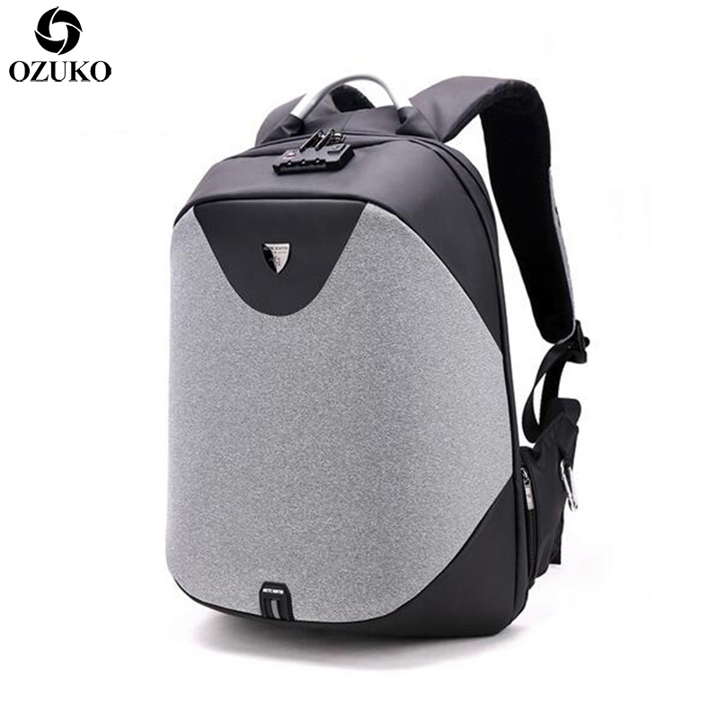 2019 Luxury Coded Lock Anti-theft Backpack Men Business 15.6 Laptop Backpacks Fashion Student School Bag Casual Travel Mochila2019 Luxury Coded Lock Anti-theft Backpack Men Business 15.6 Laptop Backpacks Fashion Student School Bag Casual Travel Mochila