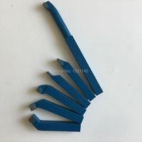 Turning Tool DIN Standard 6pcs Set 12mm Carbide Tipped Lathe Turning Tool 12mm 6pcs 12mm 6pcsturning