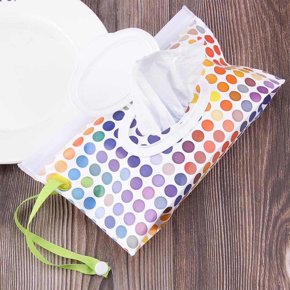 Уход за ребенком, влажная коробка для салфеток, чистящие салфетки, контейнер, чехол, раскладушка, ремешок, экологически чистый, удобный для переноски, коробка для салфеток, чехол для влажных салфеток Tussue