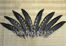 100Pcs/Lot 4-6 10-15cm Lady Amherst Pheasant Tail Feathers Wholesale Loose Quill Natural Smudge Wand Black Brown