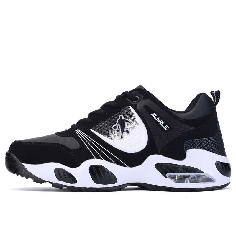 5a8d36c0e61 Official Athletic Mens 2018 Low Air Basketball Lace-up Autumn Summer  Trainer Breathable Black White