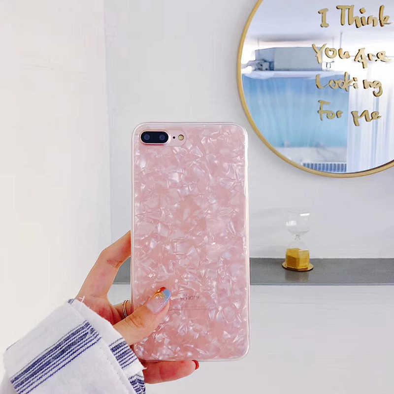Cho iphone 6 6 4S Trường Hợp Sang Trọng đối với Phụ Nữ Mềm Silicone Tinh Khiết Màu Điện Thoại Coque đối với iphone X 7 8 cộng với 5 5 s SE Fundas Capas