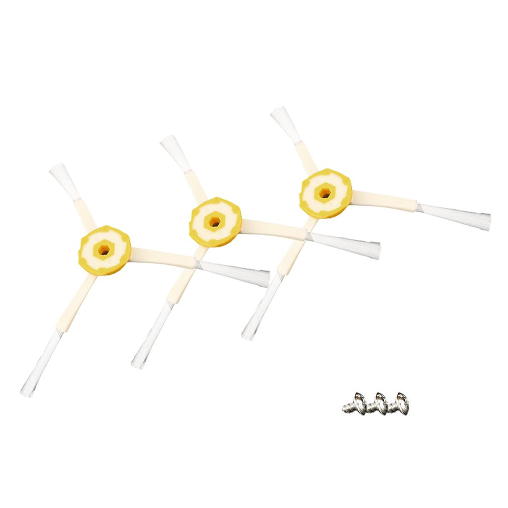 6PCS Side Brush For iRobot Roomba 600 700 Series 3-Armed Vacuum Cleaner Parts
