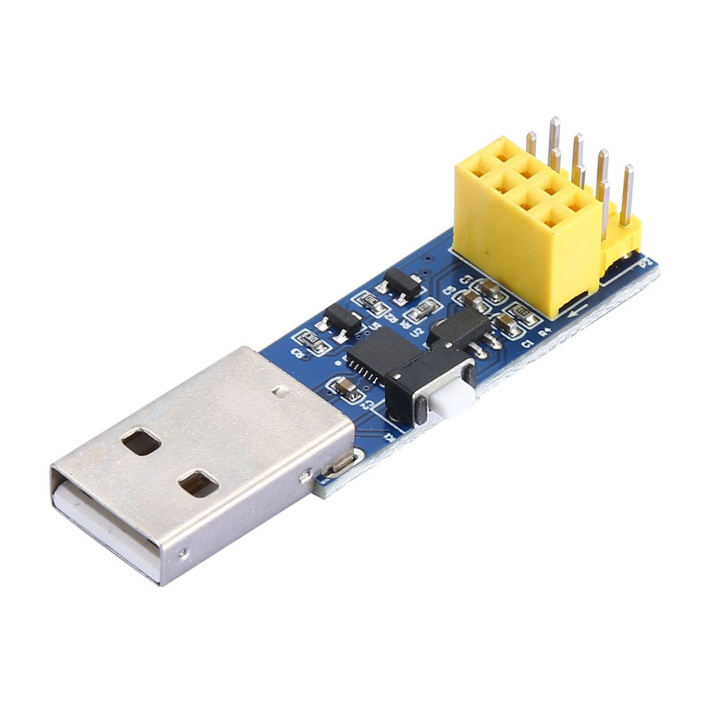 ESP8266 ESP-01 Wifi Module Adapter Computer Phone Wireless Communication Microcontroller ESP LINK V1.0 IDE USB