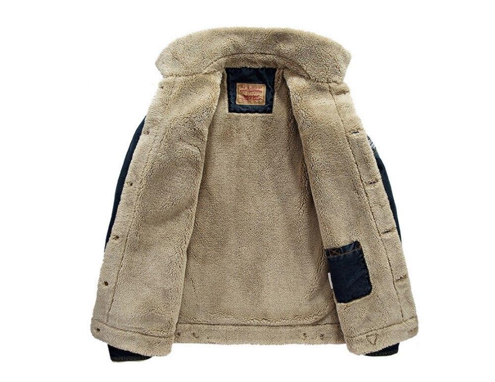 LONMMY M-4XL 2018 Winter Jeans Jacke Herren Mantel Jeans Herren Jacke - Herrenbekleidung - Foto 3