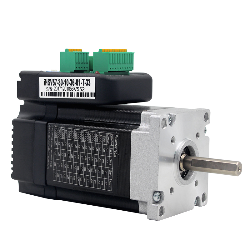 IHSV57 30 10 Integrated AC Servo motor Drive set DC36V 100W 3000RPM 0.29NM Y