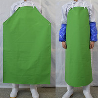 PVC Apron Waterproof Anti Oil Pollution Aprons Men Women Waiter Restaurant Wash Car Shop Household Cleaning