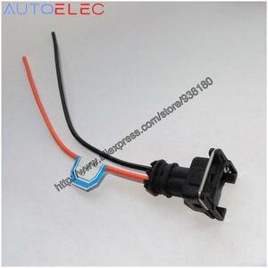 1Pcs Junior Power Timer JPT 2 way pin EV1 plug kit  EV1 Wiring Plugs  RC Clips Fit EV1 OBD1 Cut & Splice 6 Pigtail Cut & Splice