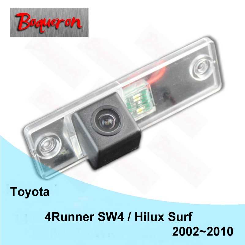 Dla Toyota 4 Runner SW4 Hilux Surf 2002 ~ 2010 HD CCD Night Vision Backup Parking kamera cofania z tyłu samochodu kamera NTSC PAL