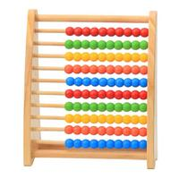 WYNLZQ Baby Toys Wood Abacus Toy Learning Educational Kids Math Toy For Children Rainbow Early Childhood Toys Birthday Gifts New