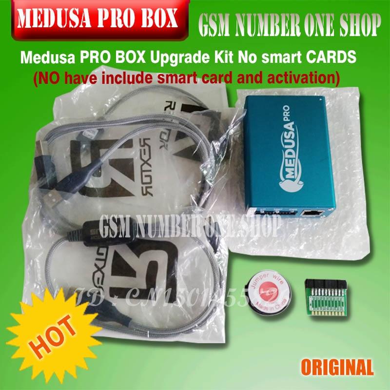 Free Shipping 100 Orginal Medusa PRO BOX Upgrade Kit No smart CARDS NO have include smart