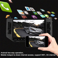 Vehemo FHD Android 5.1 Premium Portable Car GPS MP5 Player DSP 4K Video Player Navigation Universal OBD Display
