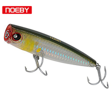 Noeby 1pcs 105mm/24g Topwater Popper Floating  Poper Lure Hooks Crank Baits Tackle Tool