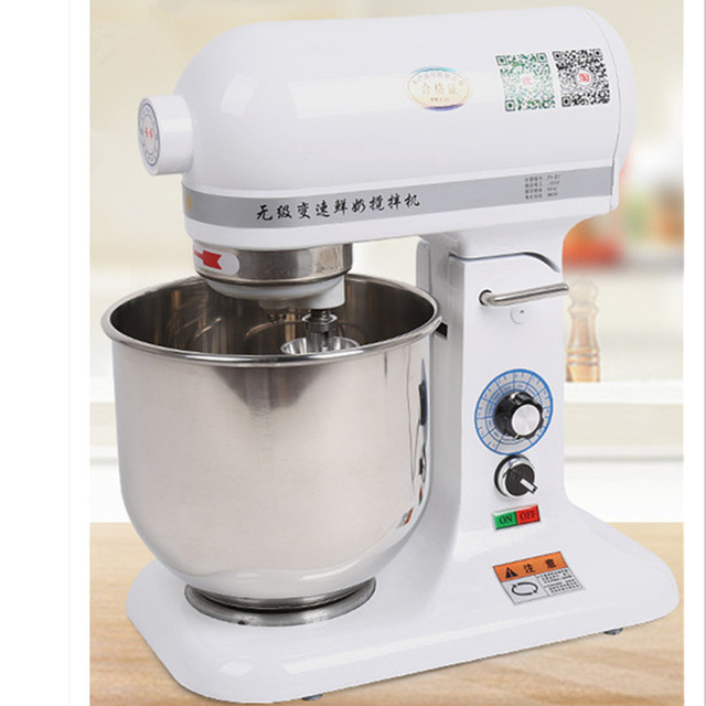 220V Automatic Commercial Electric Dough Mixer Red/White Color Available Professional Stand Electric Food Mixer EU/AU/UK/US