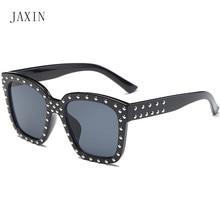 JAXIN Fashion Square Kids Sunglasses shiny large frame plating Boy Sun Glasses Girls pull the trend new goggles UV400 okulary