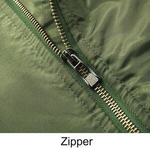 Image 5 - Men Jackets Bomber Thicken Cotton Coats Winter Autumn Mens Pilot Jacket Male Big Size 7XL 8XL Man Overcoat Drop Shipping,ZA219