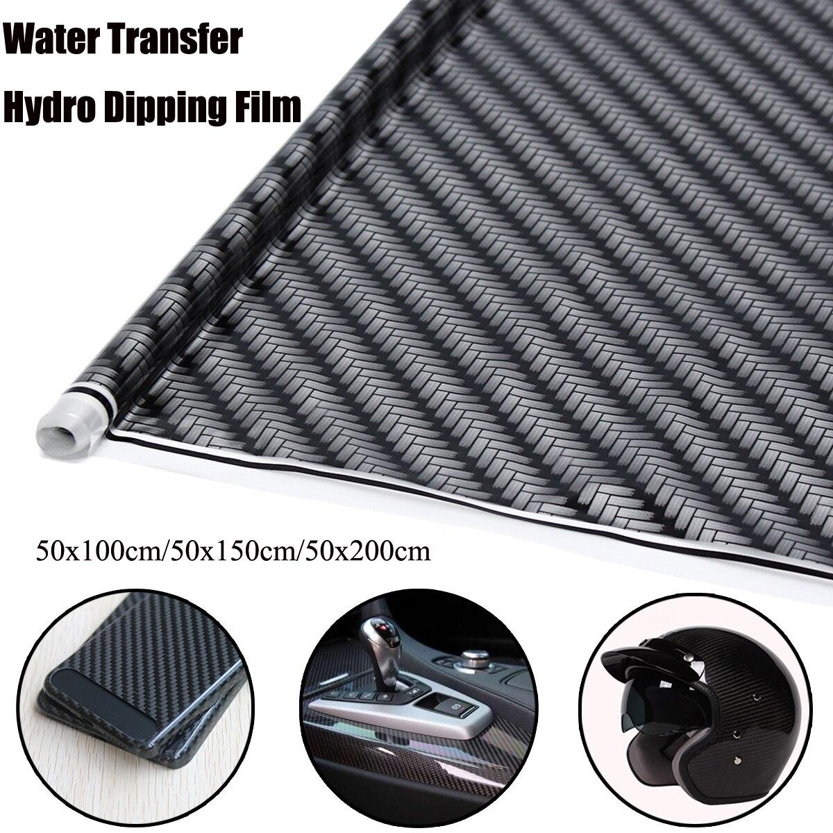 Auzan Carbon-Fiber Hydrographic Water-Transfer-Printing Print-Film Car-Decor DIY Universal