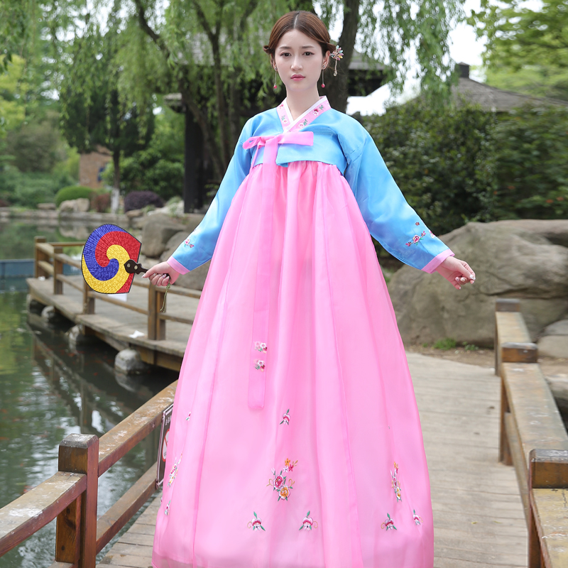 brand new traditional korean hanbok dresses asia